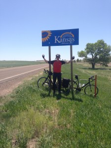 Made it to Kansas on day one